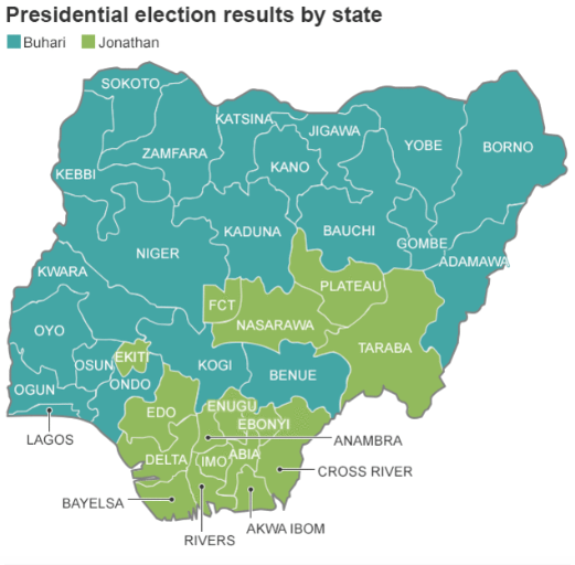 Source: Nigeria Independent National Electoral Commission (INEC)